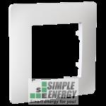 Рамка одномісна CLASSIC (біла)
